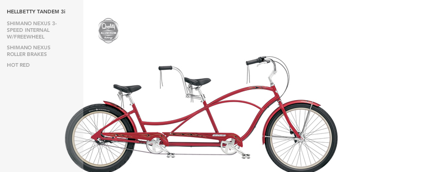 HELLBETTY TANDEM 3i HOT RED